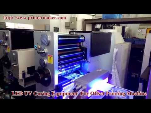Led UV Curing Equipment For Offset Printing Machine