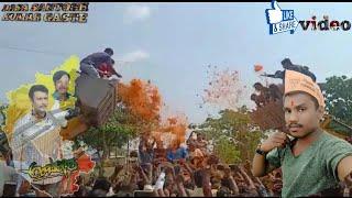 dboss darshan rally mandya darshan fans craze in mandya
