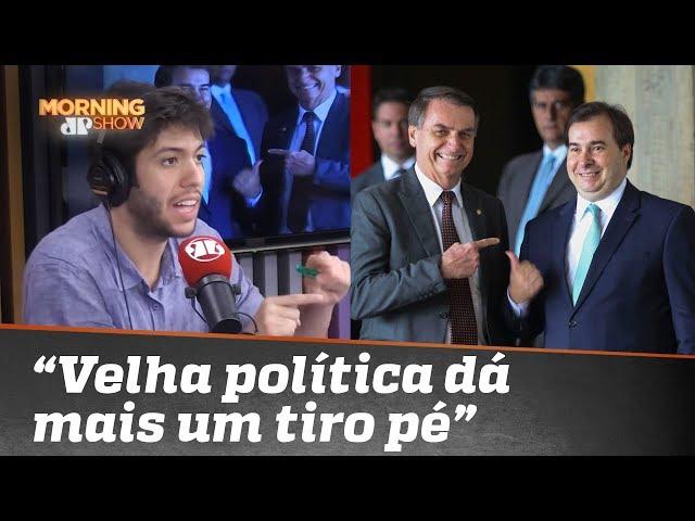 """""""PEC Zumbi de Rodrigo Maia"""": Para Caio Coppolla, velha política dá mais um tiro pé"""