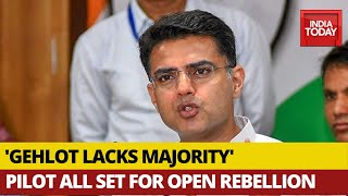 Rajasthan Political Crisis: Gandhis Back Ashok Gehlot, Sachin Pilot Claims CM Doesn't Enjoy Majority