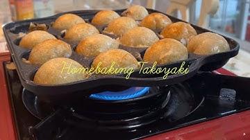 곰신의 하루 - 홈베이킹 타코야끼 만들기 🐙 (가격, 꿀팁)