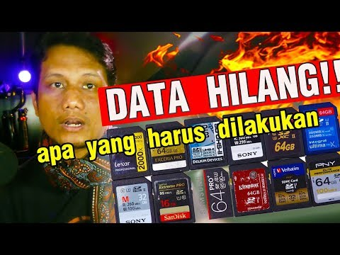 TIBA TIBA DATA HILANG DARI MEMORY CARD - LANGKAH PERTAMA YANG DILAKUKAN
