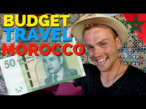TRAVEL in MOROCCO for EXTREMELY CHEAP المغرب