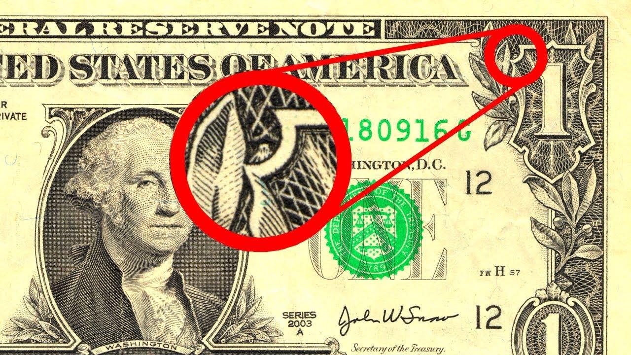 STRANGE Secrets In US Money
