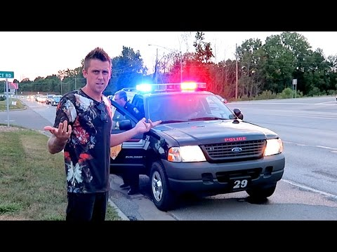 BUSTED FOR DOING BURNOUTS!!