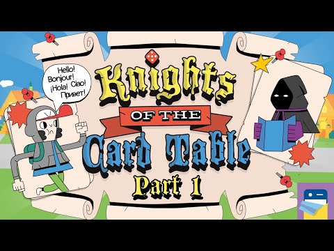 Knights of the Card Table: iOS / Android Gameplay Walkthrough Part 1 (by Iron Horse Games)