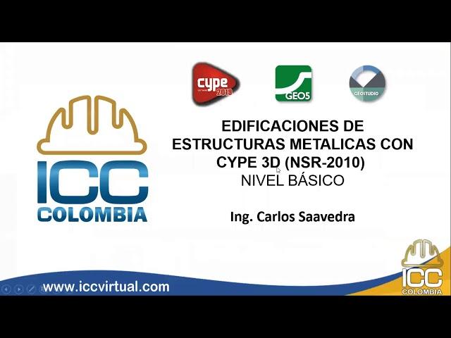Conferencia - Estructuras Metálicas - CYPE3D