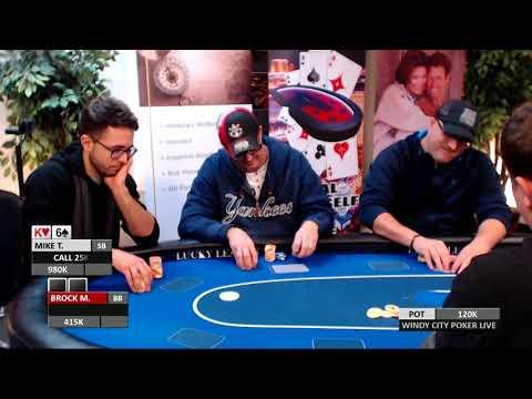 Nappanee Poker Classic Final Table Main Event 2017 Dec Part 3 of 3