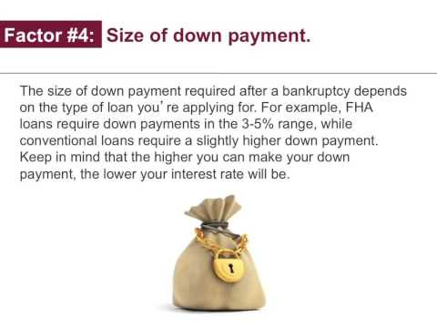 How to Get a Mortgage After Bankruptcy?