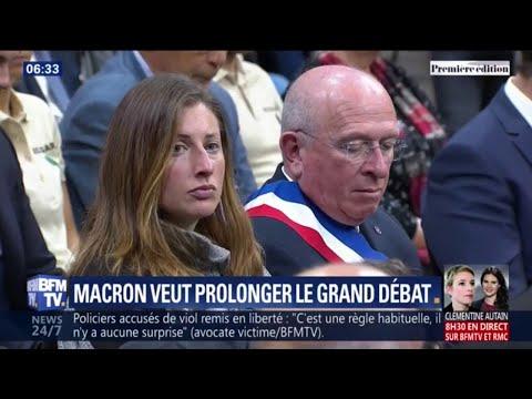 Emmanuel Macron veut prolonger le grand débat, qui fait grimper sa cote de confiance