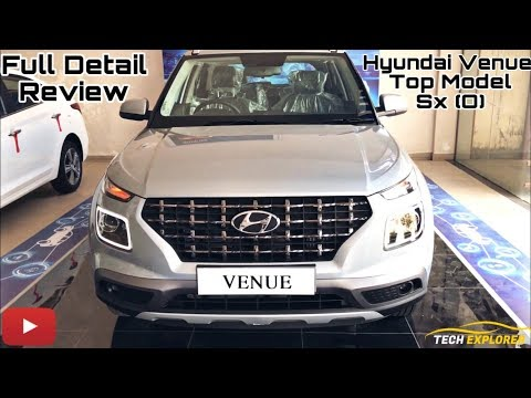 Hyundai Venue SX(O)  l Full Detail Review l Price, Interior, Feature l Real Life Review