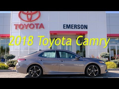 2018 Toyota Camry At Emerson Toyota   Duration: 2 Minutes, 1 Second.