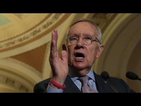 Harry Reid makes statement on Donald Trump