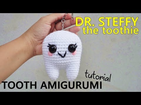 Crochet Tooth   Crochet Toys - Author's crochet toys & patterns   360x480
