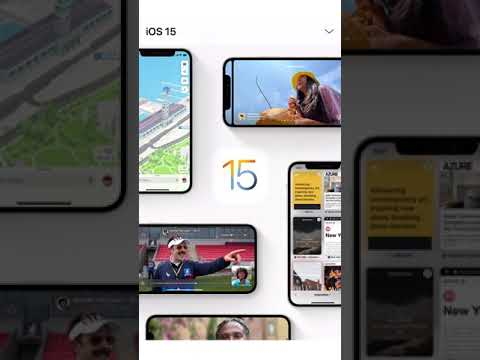 iOS 15, iPadOS 15, watchOS 8 Drops Tonight! #Shorts