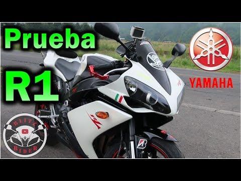 Yamaha R1 |Review en Español Prueba  con Blitz Rider FT J-Sasso Rider