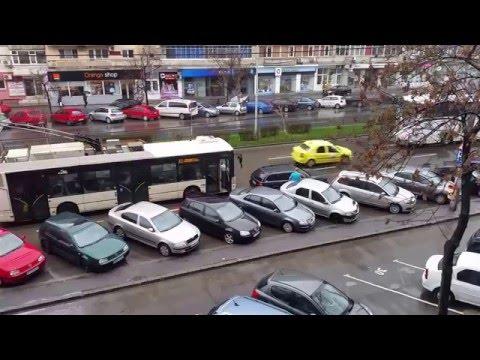 RATB vs masina parcata aiurea