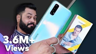 realme 7 Unboxing And First Impressions⚡⚡⚡MediaTek Helio G95, 90Hz Display, 64MP Quad Cameras & More
