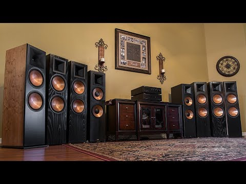 Klipsch RF-7, RF-7 II, RF-7 III Flagship Reference Speaker Review and Comparison