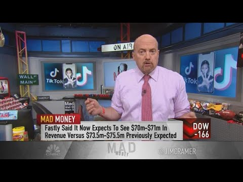 Jim Cramer: Buy Fastly If The Stock Continues To Fall After Lowering Revenue Guidance