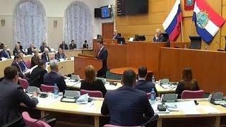 В Самаре состоялось первое заседание губернской думы 6-го созыва