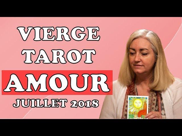 TAROT AMOUR VIERGE 💕 COUPLE ET CÉLIBATAIRE 💕 ÉTÉ 2018