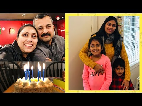 Relaxed Birthday Vlog ....Indian Mom Vlogger In Canada