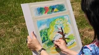 «Уроки рисования». Рисунок пастелью (17.06.2016)