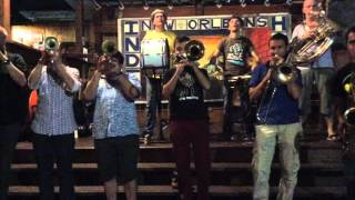 Skokiaan Brass Band @ India House, New Orleans, oct 2015, #2