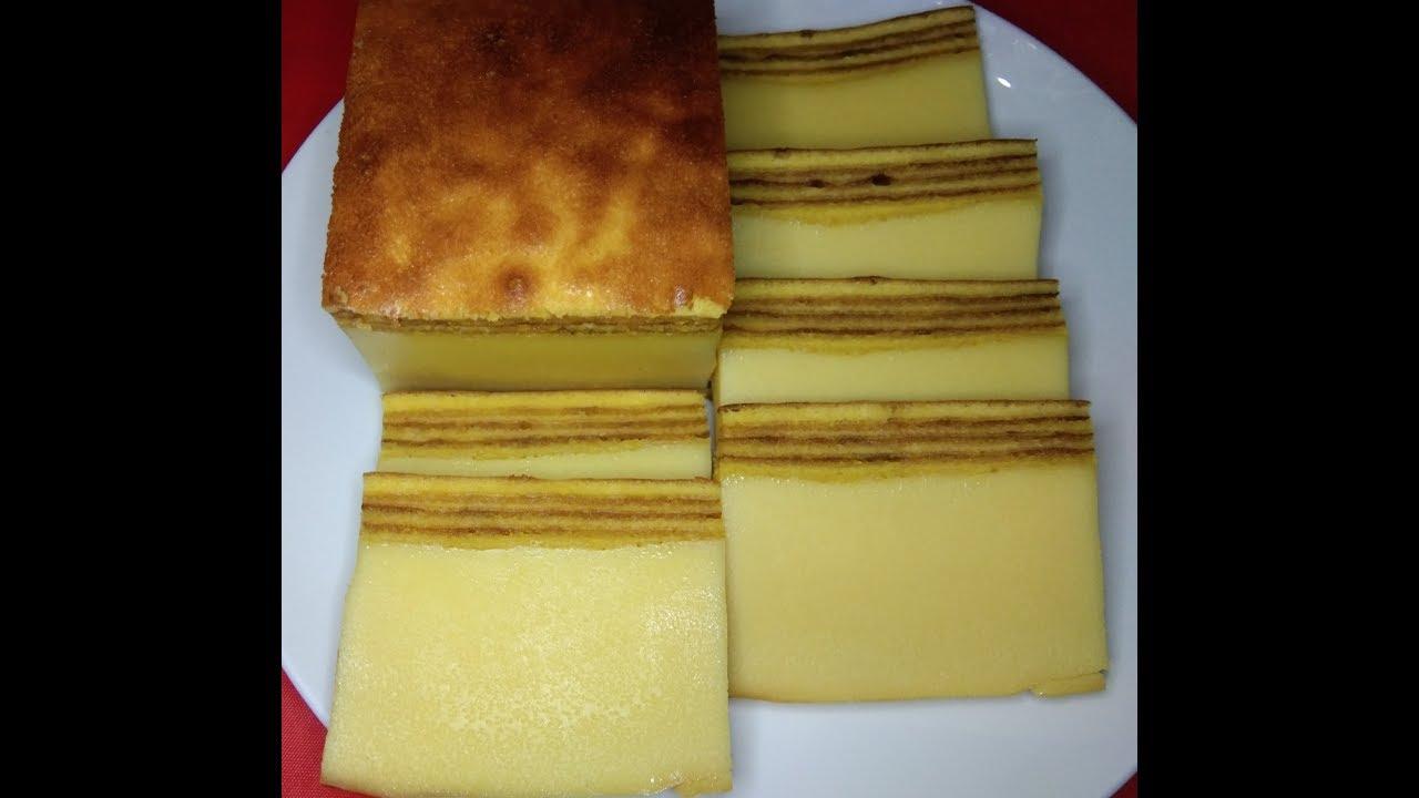 Resep Kue Lapis Perancis Kue Sabun Lapis Legit Youtube
