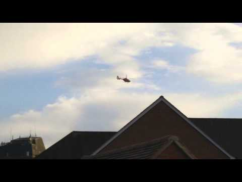 Midlands Air Ambulance - Landing and Taking Off at Gloucestershire Royal Hospital from YouTube · Duration:  49 seconds