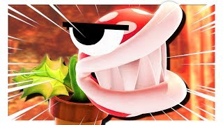 Piranha Plant but some funny stuff happens