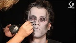 Schminken zu Halloween: Zombie Make-up leicht gemacht -- by Horrorklinik.de