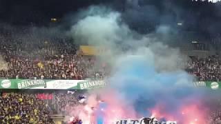 Borussia Dortmund - Hertha BSC 2:2 Highlights Südtribüne, Pyro gästeblock