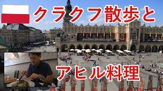 東欧旅8日目の2 ポーランドのクラクフで伝統的なアヒル料理とか散歩とか【無職旅】