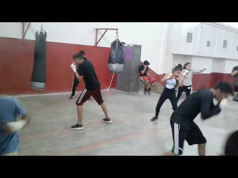 Boxeo amateur entrenamiento, Cd Juárez, G/money-Rios.