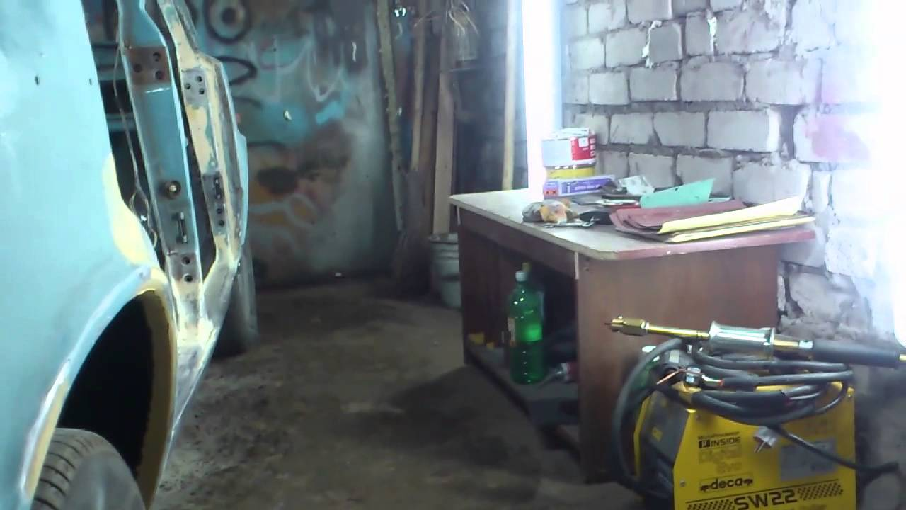 Кузовной ремонт Ваз 2106 Часть 32