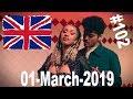Gambar cover UK Top 40 Singles Chart, 01 March 2019  № 102