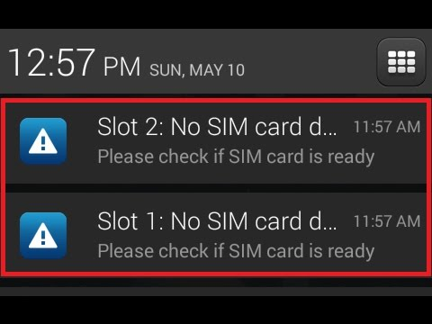 Sim cards not detected FIX for CM 14 1/14/13/12/11