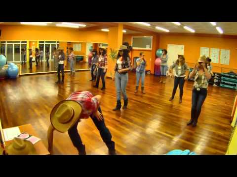 HONKY TONK BADONKADONK TRACE ADKINS LINE DANCE DANA