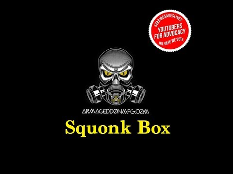 Squonk Box by ARMAGEDDON MFG & COUPON CODE!