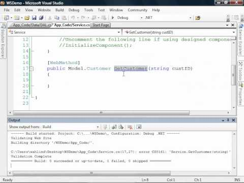 Creating Web Services with the .NET Framework - Dan Wahlin
