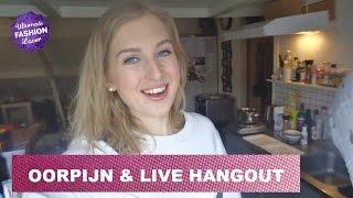 Oorpijn, Nieuwe Schoenen & Live Hangout | VLOG #15 Thumbnail
