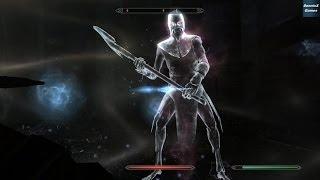 Skyrim Dawnguard DLC -Каирн Душ (Soul Cairn) Сражение с Жнец (Reaper) — нежить, даэдра.