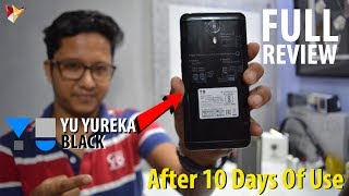 Yu Yureka Black Full Indepth Review After 10 Days Of Use | Data Dock