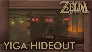 Zelda Breath of the Wild - How to Get Through Yiga Clan Hideout