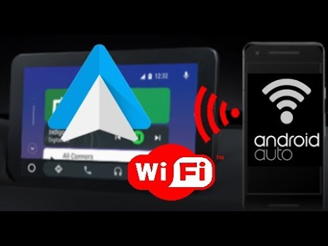 How-to use Android Auto Wireless #Retrofit
