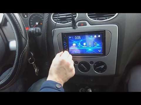 Форд Фокус 2 Магнитола Pioneer MVH-G210BT 3а 8000 тыщ