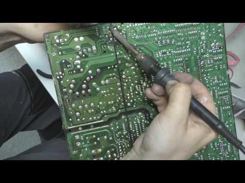 Samsung Cs-21z30zaq шасси S16C не включается