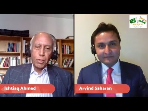 The Partition of India - In conversation with Professor, Dr. Ishtiaq Ahmed - Episode 1